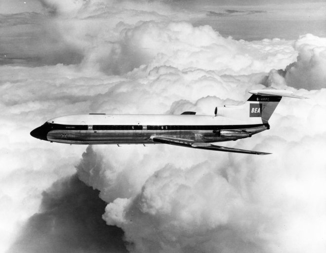 BEA Hawker Trident - Image provided by British Airways