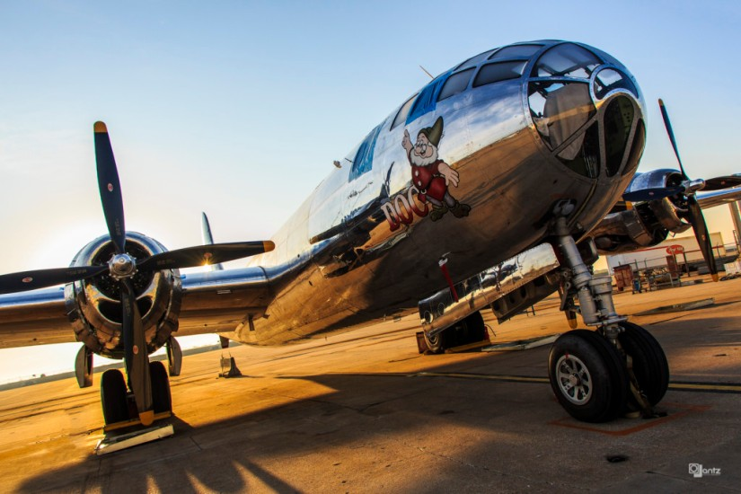 "B-29 ""Doc"" Inches Toward Its Second First Flight"