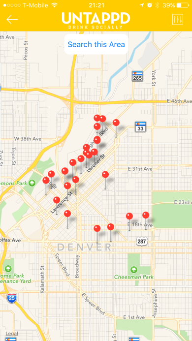 All of these breweries, just in downtown Denver! Jealous yet?