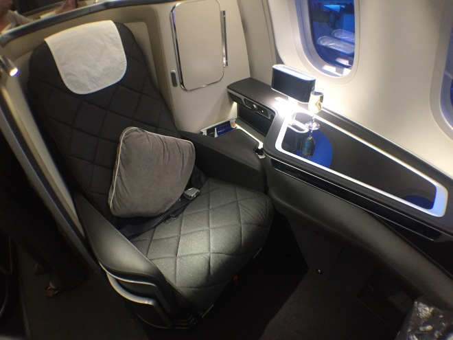 British Airways' 787-9 First Class. Photo by Paul Thompson.