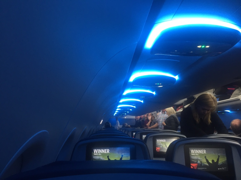New Delta Interior is Attractive, Roomy, andConfusing