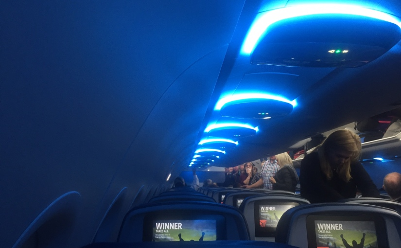 New Delta Interior is Attractive, Roomy, and Confusing