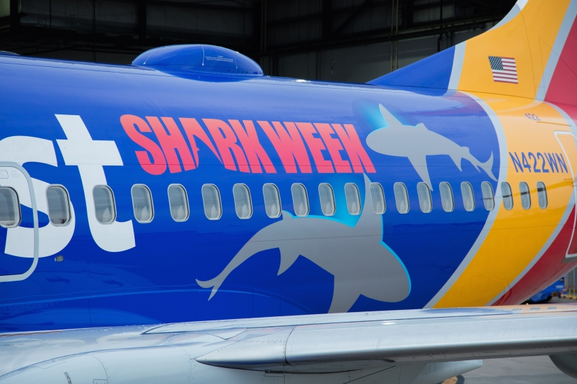 Fish Out of Water! Southwest Promotes SharkWeek