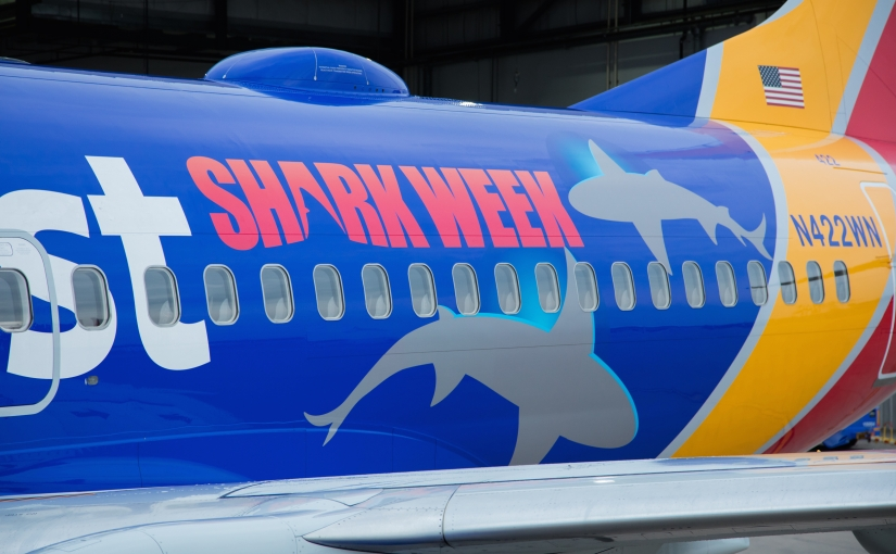 Fish Out of Water! Southwest Promotes Shark Week